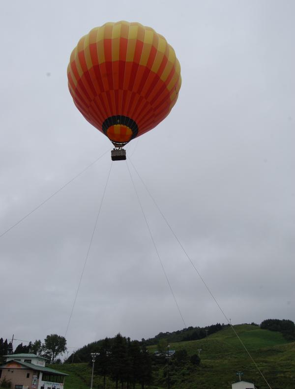 神鍋高原で熱気球