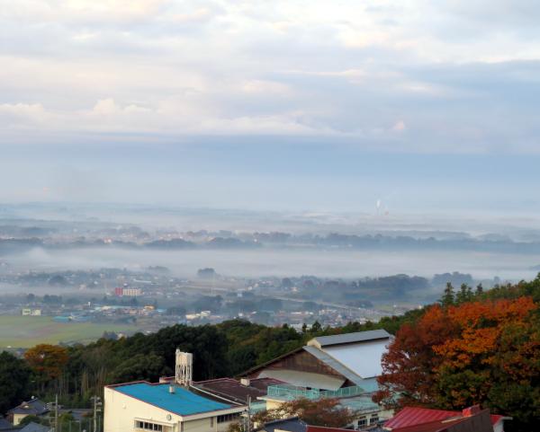 筑波山眺望