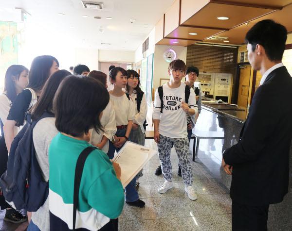 あわら温泉に京都外国語大学