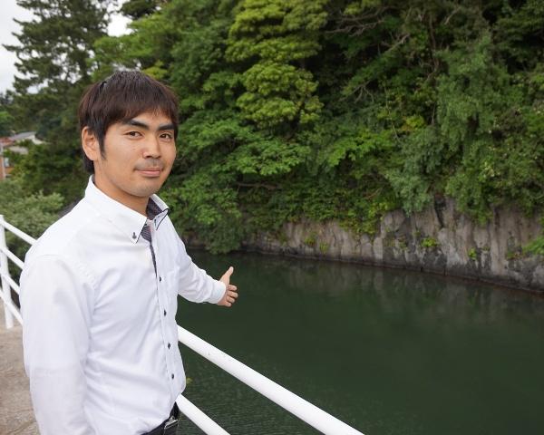 隠岐ユネスコ世界ジオパーク推進協議会丸田洋樹さん