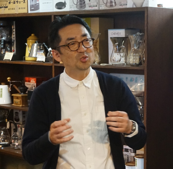 京見屋分店谷田晃さん