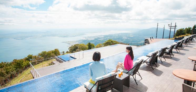滋賀県で架ける虹色の旅へ