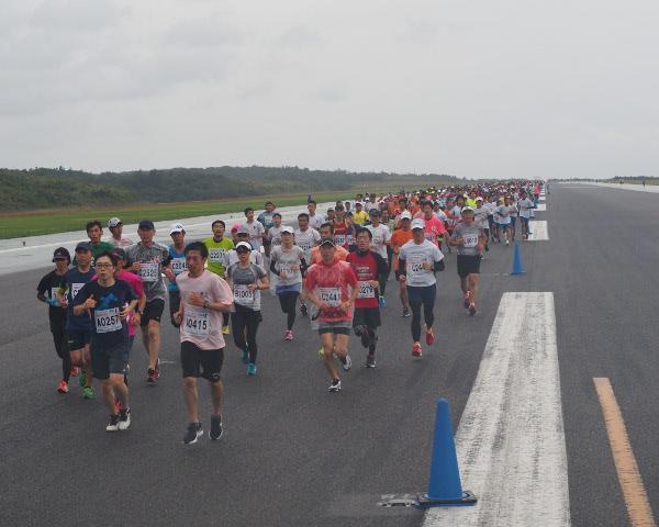萩・石見空港マラソン全国大会