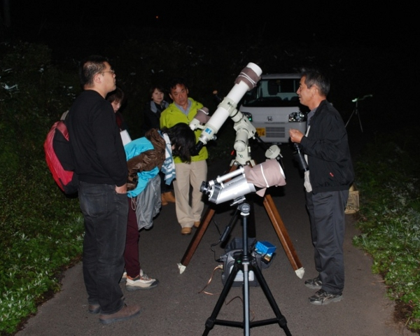 星空観察ツアー