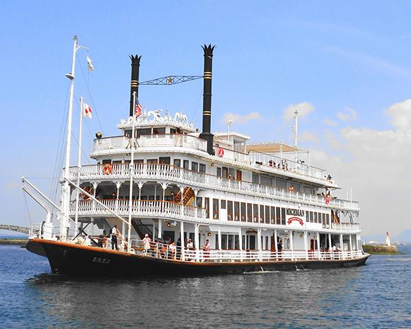 観光蒸気船ミシガン
