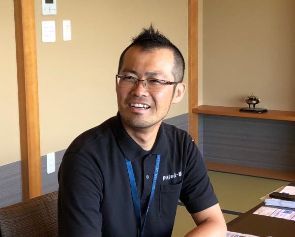 プロジェクトゆうあい代表・川瀬篤志さん