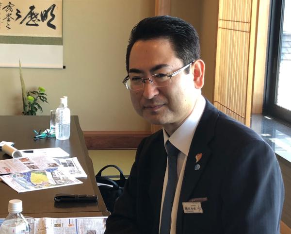 なにわ一水社長・勝谷有史さん