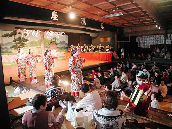 鳳凰座の地歌舞伎