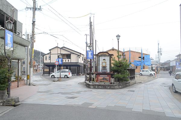 水口宿の三筋町