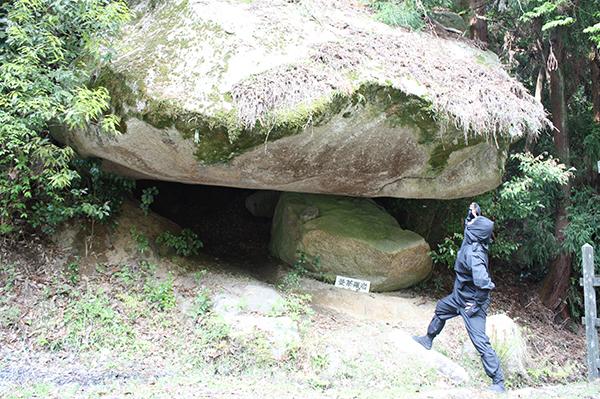 岩尾山の奇岩